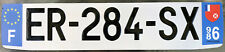 🌟😊🌟 SOUTH PACI-FRANCE OVERSEAS 2010's WALLIS & FUTUNA LICENSE PLATE. DOM-TOM