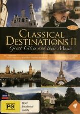 Classical Destinations II - Great Cities and their Music 2 Disc Set DVD