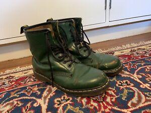Green Vintage Dr Martens - Size UK 5