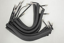 10 Handset Cords 6-Feet Charcoal Gray (4 in tails)Avaya Cisco Panasonic IP Phone