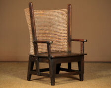 Antique Pine Child's Orkney Chair c.1910.