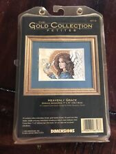 """The Gold Collection Petites """"HEAVENLY GRACE"""" Cross Stitch Kit 6713"""