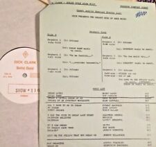 RADIO SHOW: DICK CLARK GOLD #116 DREAMY! ROY ORBISON, JOHN LENNON, PAT BOONE