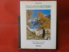 """Forno O.""""Italia in un sentiero""""  Hoepli, 1995"""