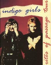 Indigo Girls - 1992 Rites Of Passage Tour Book New Condition