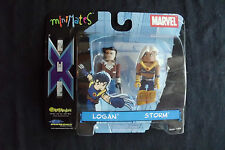 Ultimate X-men Minimates - Logan / Storm 2-pack