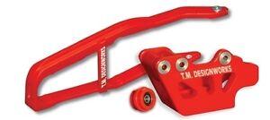 TM Designworks Baja Rally Chain Slide-N-Glide Kit 2007-2009 Honda CRF250R - Red