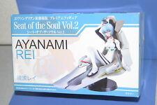 EVANGELION SEAT OF THE SOUL VOL.2 Rei Ayanami Premium Figure SEGA