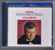 CHOPIN CD NEW VAN CLIBURN POLONAISE NOCTURNE FANTAISIE