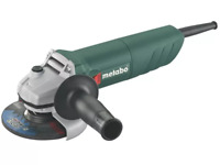 """Metabo 4.5"""" 115mm W750-115 240v Angle Grinder with Restart Protection New"""
