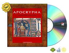 Apocrypha, King James Version Bible Book On CDROM