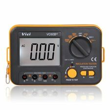 VICI VC60B Resistor Instrument Digital Insulation Tester Megohm Megger Tens R5G2