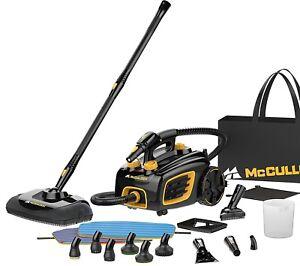 Portable Steam Cleaner Machine Steamer Carpet Floor Tile Grout Degrimer Black