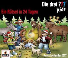 Die drei ??? Fragezeichen Kids - Ein Rätsel in 24 Tagen -  Adventskalender 2017