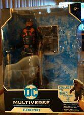 "McFarlane DC Multiverse Suicide Squad Bloodsport 7"" Action Figure in hand NO BAF"