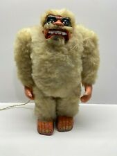 CG Vintage 1960's MARX Yeti the Abominable Snowman Battery Powered Robot NoRes