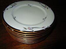 8 Gorham Fine China Manhattan pattern Salad or Dessert Plates Mint with labels