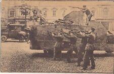 Guerre 14-18 BERLIN 1918 RÉVOLUTION SPARTAKISTE COMBATS BLINDÉ AUTOMITRAILLEUSE
