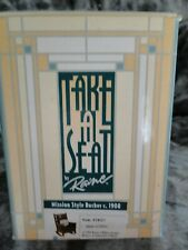 "Take a Seat by Raine ""Mission Style Rocker c.1908"" 1999"