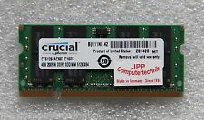 4 GB Speicher Laptop Notebook RAM DDR2 667-Mhz So-Dimm PC2-5300S 200 Pin CL 5