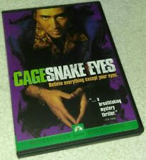 Snake Eyes Nicolas Cage Dvd