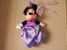 DISNEY STORE MINNIE MOUSE PRINCESS MINNIE BEAN BAG NEW WITH TAGS