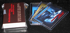 Paranormal Activity Collector Cards ~ BINDER, 50-CARD BASE SET & 3 PROMO CARDS
