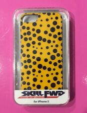 iphone 5 hard case cover: Black Pois On Yellow  [Made by SKILL FWD] New