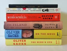 Lot 6 Oliver Sacks On the Move Mind's Eye Musicophilia Island of Colorblind 4HC