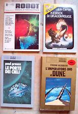 1976 LOTTO DI ROMANZI DI FANTASCIENZA 'GALAXIS' 'DUNE' EDITRICE NORD, ROBOT..