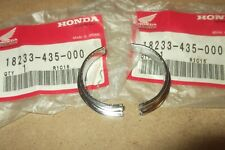 HONDA XL500 XL600 XR500 XR600 XR350 GENUINE NOS EXHAUST COLLARS # 18233-435-000