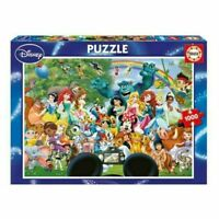 Educa Disney 1000 Piece Jigsaw Puzzle The Marvelous World Of Disney NEW & SEALED