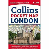 London Pocket Map by Collins Maps 9780008214173 (Sheet map, folded, 2017)