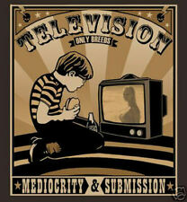 TV Television Breed mediocrity Submission Political Anti Mainstream Media Tshirt