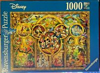 Jigsaw Puzzles-1000 Pieces-The Best Disney Themes-Ravensburger-Games