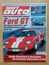 Sport Auto 11/2003 - Audi S4 - Ford GT - Mini Cooper S - Saleen S7 - Smart Road.