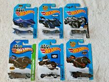Hot Wheels Batman 6 pack variety Bat vehicles