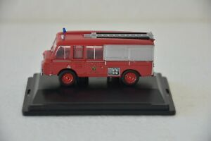 """Oxford Diecast Land Rover FT6 Carmichael """"Cheshire Fire Brigade"""" 1/76 Scale"""