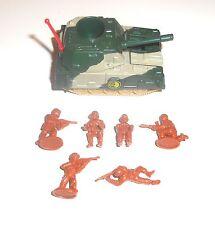 1980's Bluebird Toys - Zero Hour ~ ZA1 GEMINI ~ Two Man Tank Set  - 6197