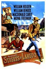 Streets of Laredo (1949)--16mm feature Film--Western-William Holden