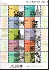 Nederland 2104-2113 Industriëel erfgoed 2002 PF