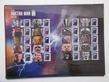 2013 Doctor Who (1963-2013) Smiler Sheet LS85 - Superb U/M & At A Great Price