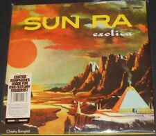 SUN RA exotica USA 3-LP new sealed DELUXE GATEFOLD COVER space age lounge