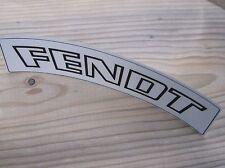 Aufkleber FENDT 2x Schriftzug Oldtimer outline Traktor A51