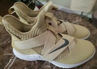 Nike LeBron Soldier XII TB Promo AT3872-702 Team Gold Wht Men's Basketball Shoes