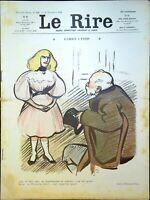 Le RIRE N° 95 - 26 Novembre 1904 - L'amour à Paris