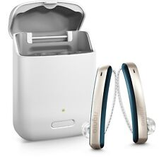 2 NEW Siemens/Signia Styletto Connect 3NX Hearing Aids Aid Made For Iphone