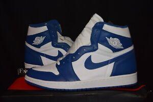 Air Jordan 1 Storm Blue Kentucky 555088 127
