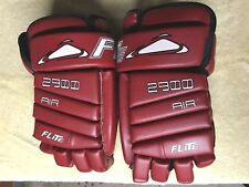 Flite Ice Hockey Gloves 2900 Air Armour Excellent New 12�