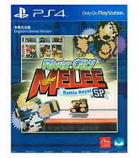 RIVER CITY MELEE Battle Royal Special, Disc PS4, 2017, English Chinese Japanese